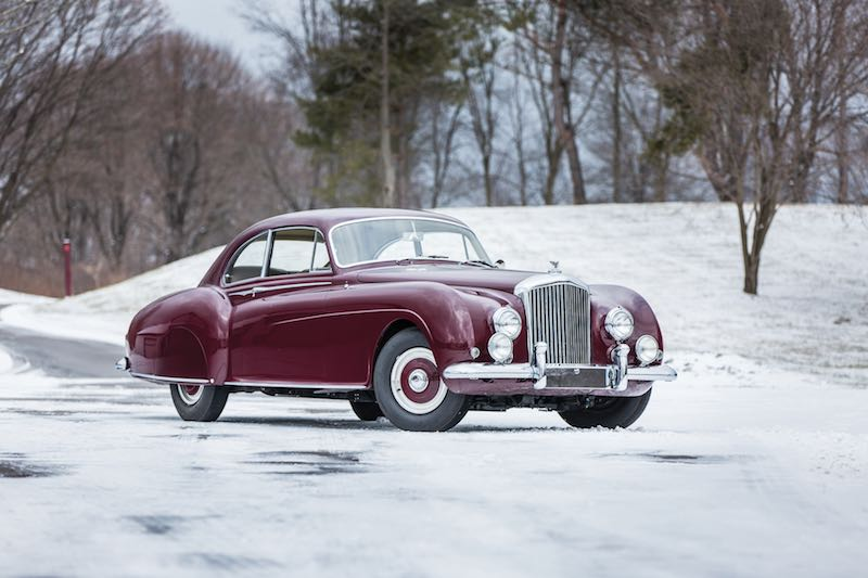 1954 Bentley R-Type Continental Fastback Sports Saloon by H.J. Mulliner (photo: Jeremy Cliff)
