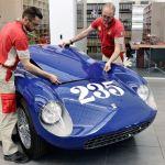 Ferrari 500 Mondial Restored for Pebble Concours 2015