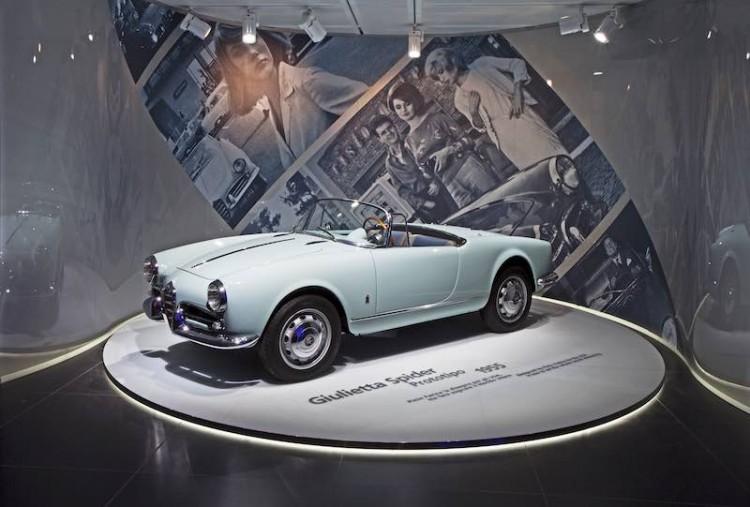 1955 Alfa Romeo Giulietta Spider Prototype