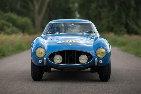 1956 Ferrari 250 GT Berlinetta Competizione Tour de France Interior