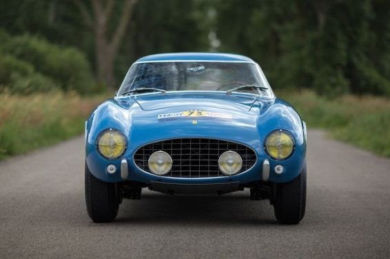 1956 Ferrari 250 GT Berlinetta Competizione Tour de France Interior
