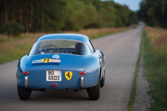 1956 Ferrari 250 GT Berlinetta Competizione Tour de France Rear