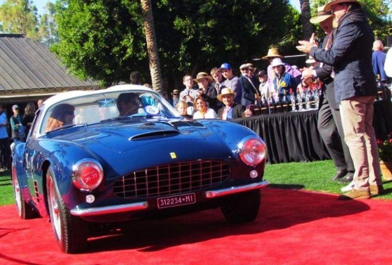 1956 Ferrari 250 GT Zagato (photo: Larry Edsall)