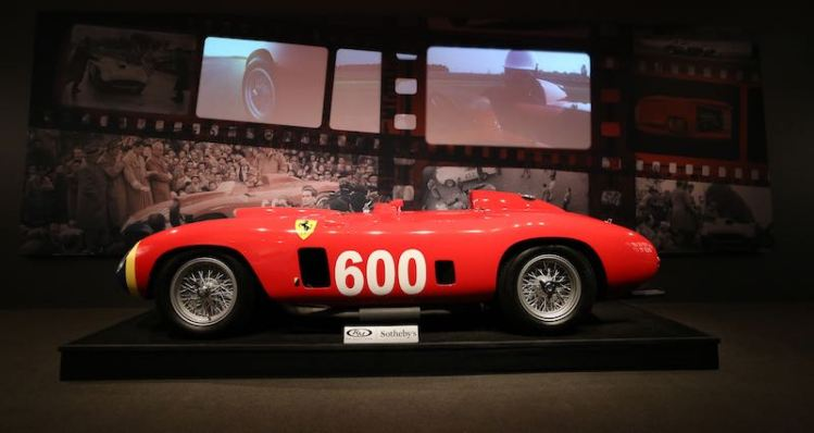 1956 Ferrari 290 MM sold for $28,050,000
