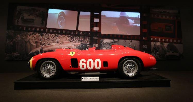 1956 Ferrari 290 MM sold for $28,050,000