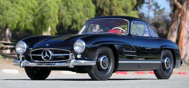1956 Mercedes-Benz 300 SL Gullwing-blk