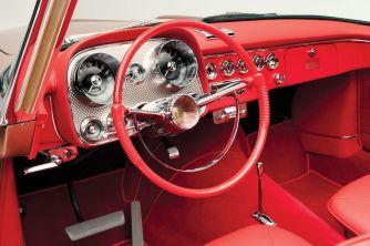 1957 Dual-Ghia Convertible Interior