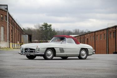 1957 Mercedes-Benz 300 SL Roadster (photo: Trace Taylor)
