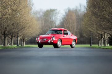 1958 Fiat Abarth 750 GT Zagato Coupe (photo: Drew Shipley)