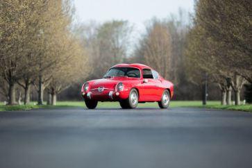 1958 Fiat Abarth 750 GT Zagato Coupe (photo: Drew Shipley)