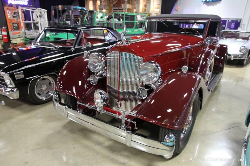 1934 Packard Twelve Coupe Roadster