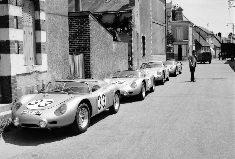Porsche at Le Mans in the 1960s , History, Photos, Profile