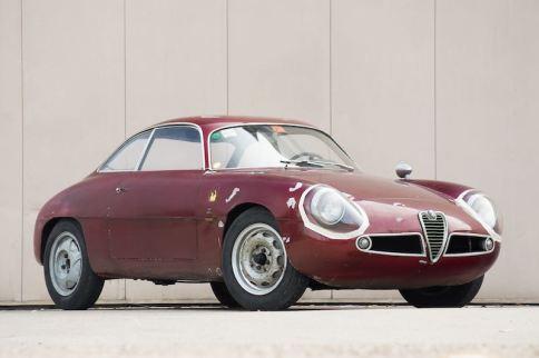 1960 Alfa Romeo Giulietta Sprint Zagato (photo: Gooding)