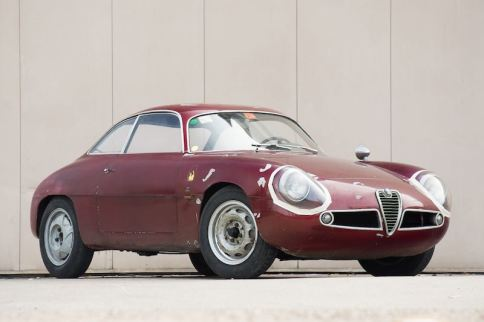 1960 Alfa Romeo Giulietta Sprint Zagato (photo: Gooding)