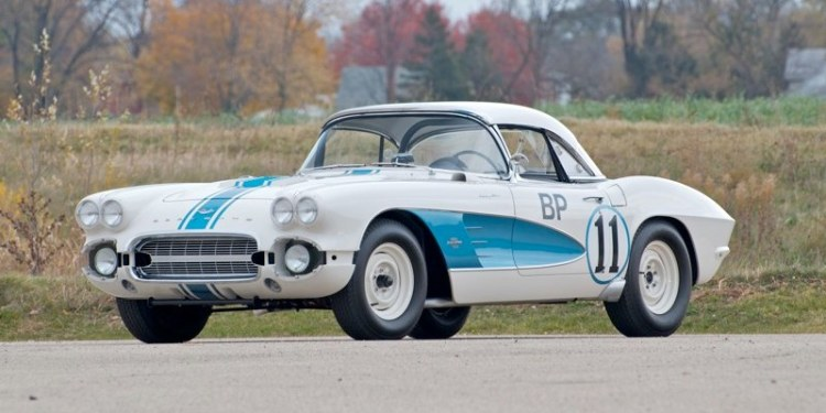 1961 Corvette Gulf Oil Race Car