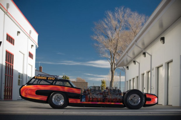 <strong>1961 The Wagon-Master Riviera Exhibition Dragster - Estimate $125,000 - $175,000.</strong> Four engine dragster built by Tommy Ivo.