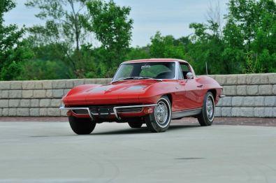 1963 Chevrolet Corvette Split Window Coupe with 4,526 miles