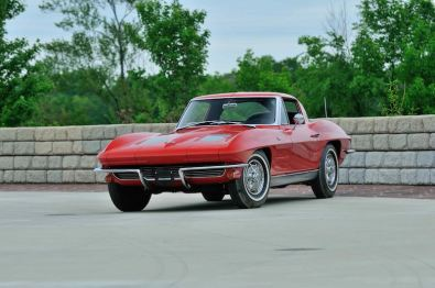 1963 Chevrolet Corvette Split Window Coupe with 4,526 miles
