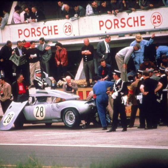 Porsche 718 W-RS Spyder of Edgar Barth and Herbert Linge