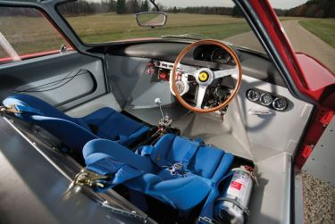 1964 Ferrari 250 LM Interior (photo: Darin Schnabel)