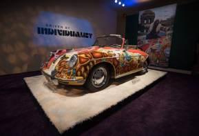 Janis Joplin 1964 Porsche 356 C 1600 SC Cabriolet sold for $1,760,000