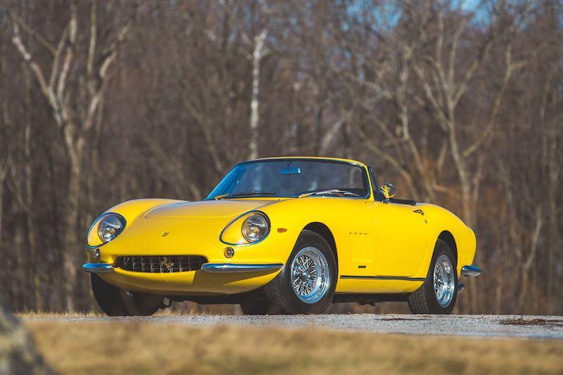 1965 Ferrari 275 GTB NART Spider Conversion (photo: Teddy Pieper)