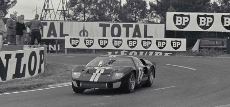 1966 Le Mans Winning Ford Gt40 Sold