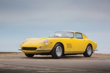 1967 Ferrari 275 GTB/4 (photo: Evan Klein)