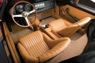 1967 Ferrari 275 GTB4 NART Spider Interior