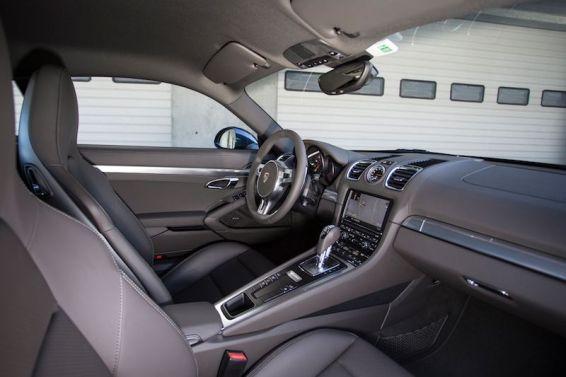 2014 Porsche Cayman S - Interior