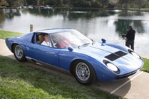 <strong>La Dolce Vita Award - 1967 Lamborghini Miura P400, Ruth Sanders, Ione, CA</strong>