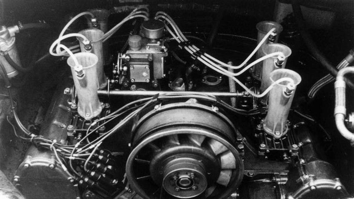 Six-cylinder engine 911 R 2.0 Coupe, 1967, Porsche AG