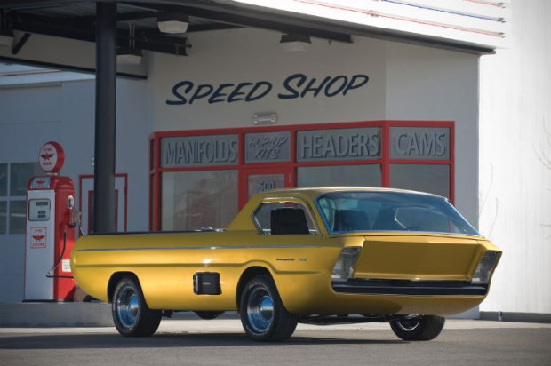 <strong>1965 Dodge Deora Concept Car - Estimate Unavailable.</strong> Designed by Harry Bradley and built by Alexander Brothers; won Ridler Award at 1967 Detroit Autorama; adopted by Chrysler Corporation, becoming one of their most popular show cars.