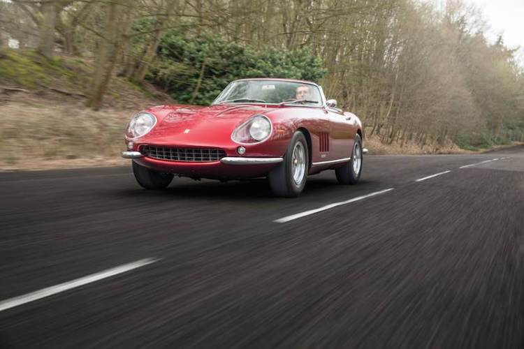 1968 Ferrari 275 GTB/4 NART Spider chassis 11057 (photo: Tom Gidden)