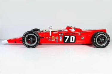 1968 Lotus 56 Turbine Indy Race Car Side