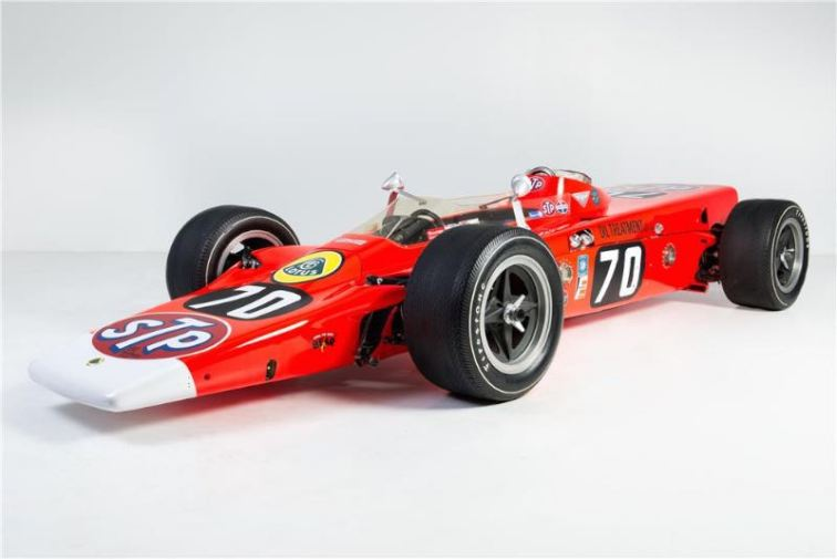 1968 Lotus 56 Turbine Indy Race Car