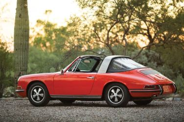 1968 Porsche 911 S 'Soft Window' Targa (photo: Patrick Ernzen)