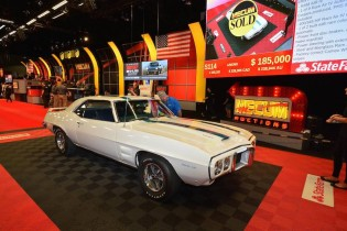 1969 Pontiac Trans Am Ram Air IV sold for $180,000