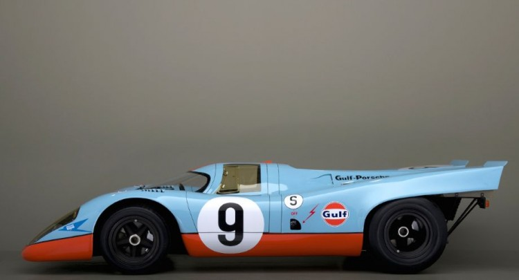1969 Porsche 917, chassis 017/004. One of four Porsche 917s to be found at Canepa Collection, Scotts Valley, CA. http://www.canepacollection.com