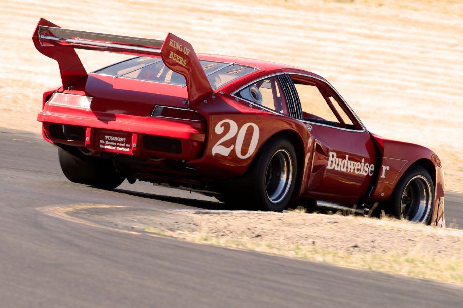 "Ken Epsman's 1976 Dekon Monza down four. ""Turbos? We Doane need no Stoenkin' Turbos"""