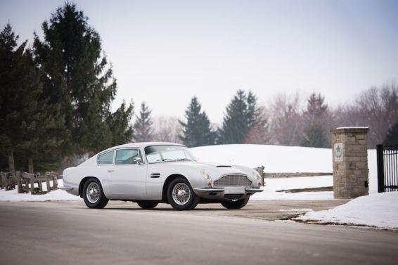 1970 Aston Martin DB6 Mk II (photo: Darin Schnabel)