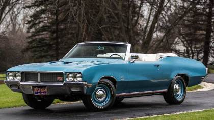 1970 Buick GS Stage 1 Convertible (Lot F146)
