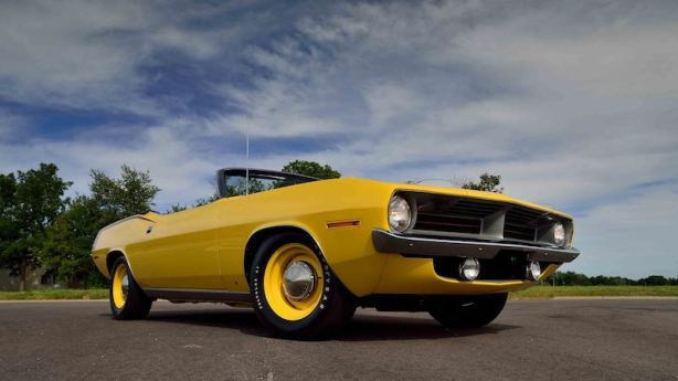 1970 Plymouth Hemi Cuda Convertible (Lot F109)