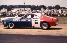 1971 AMC Javelin racing in Trans-Am Championship