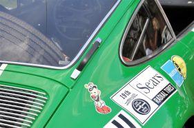 Side handle on the 1971 Porsche 911 STR