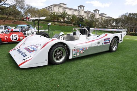 1972 Lola T310 is longest, lowest and widest Can-Am car of all time.