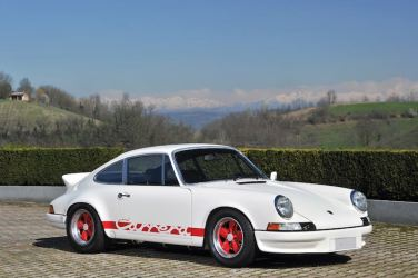 1973 Porsche 911 Carrera RS 2.7 Sport Lightweight (photo: Tim Scott / Fluid Images)