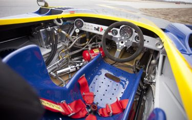 1973 Porsche 917 Can-Am Spyder Cockpit