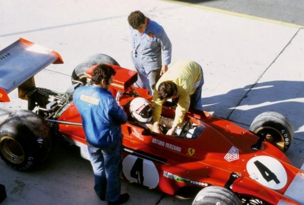 Ferrari 312B3 of Arturo Merzario