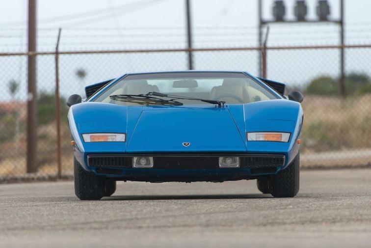 1976 Lamborghini Countach LP 400 Periscopio (photo: Robin Adams)